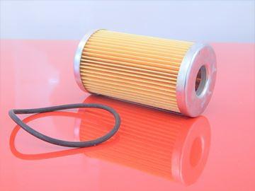 Obrázek palivový filtr do Hatz motor D 95 D95 fuel kraftstoff filtre filtrato filter OEM quality seal dichtung těsnění filtre