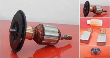 Obrázek kotva ventilator HILTI TE 72 TE72 nahradí originál TE60 stary model uhlíky mazivo GRATIS - armature anker armadura armatura Reparatursatz Wartungssatz service repair kit