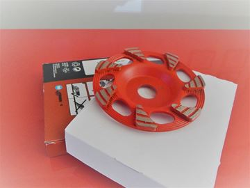 Imagen de Cabezal de rectificado de 1 pieza DG-CW 125/5 CR-SP 125 mm x 22,2 mm PARA amoladora angular Hilti NUEVO