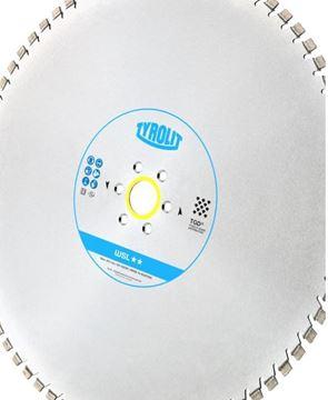Obrázek Tyrolit diamantový kotouč pro stěnové pily Hydrostress a Tyrolit 600 x 4,4 x 60 mm WSL** TGD®-Technology 34017388