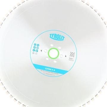 Obrázek Tyrolit diamantový kotouč pro stěnové pily Hydrostress a Tyrolit 1025 x 4,4 x 60 WSM** TGD®-Technology 34017434