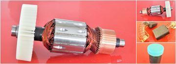 Obrázek kotva rotor Flex LW 1202 LW1202 a ventilátor nahradí originál gratis uhlíky mazivo - armature anker armadura armatura Reparatursatz Wartungssatz service repair kit kohlebürsten fett carbon brushes grease