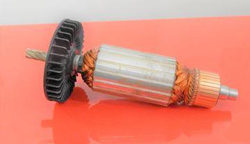Imagen de rotor de inducido Cedima EM 3/3 serie 0299135 i pro Weka Dr.Bender Tyrolit Dr.Schulze reemplazar origen / mantenimiento kit de reparación de alta calidad / escobillas de carbono y grasa LIBRE