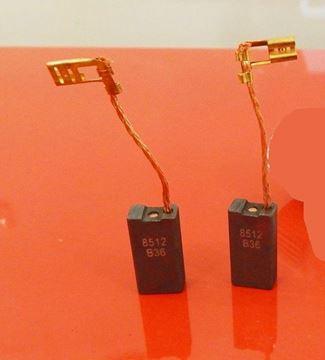 Obrázek Uhlíky Bosch GKS 55 S , GKS 65 S , GKS 75 S , GKS 85 S kohlebürsten carbon brushes balais de charbon