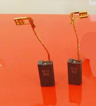 Image de Uhlíky Bosch GKS 55 S , GKS 65 S , GKS 75 S , GKS 85 S kohlebürsten carbon brushes balais de charbon
