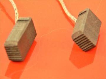 Obrázek uhlíky uhlíkové kartáče pro Bosch GWS 7 115 GWS7-115 bruska nahradí original Kohlebürsten carbon brushes balais de charbon