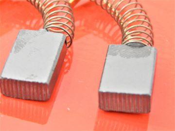 Imagen de uhlíky Einhell KGSZ 2100 4300661 KGSZ2100 KSZ 2100 4300666 nahradí original Einhell 153 KSZ2100 kohlebürsten carbon brushes