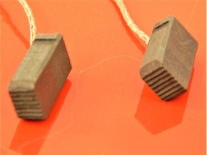 Obrázek uhlíky do HILTI DEG 150 P DEG150 P DEG150 nahradí original V15 kohlebürsten carbon brushes balais de charbon suP