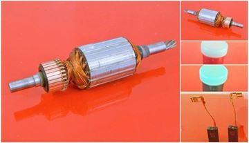 Imagen de rotor de inducido Berner BBH8-45CCE reemplazar origen / mantenimiento kit de servicio de reparación de alta calidad / escobillas de carbono y grasa GRATIS