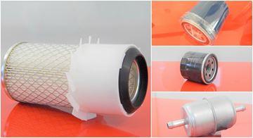 Obrázek servisní sada filtrů filtry pro Kubota KX41 KX61 KX-61 KX41 KX-41 s motorem Kubota D1105BH Set1 skládá se 1x vzduchový 1x palivový 1x potrubní 1x olejový RV 1992 seriové číslo 55287 suP filter filtre