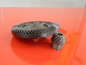 Obrázek prevod do Bosch GWS 15-125CIT GWS 15-150CI 15-150CIP GWS15-150CIH GWS15-125 GWS14-150C mazivo GRATIS 000A4P ersetzt original 1606333261 und 1606333611 tellerrad kegelrad mit getriebefett zahnrad
