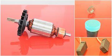 Obrázek kotva Bosch GBH2-26E GBH2-26DRE GBH2-26DFR GBH2-26RE GBH2400 nahradí 1617000560 uhlíky mazivo - rotor anker armature armadura armatura Reparatursatz Wartungssatz service repair kit
