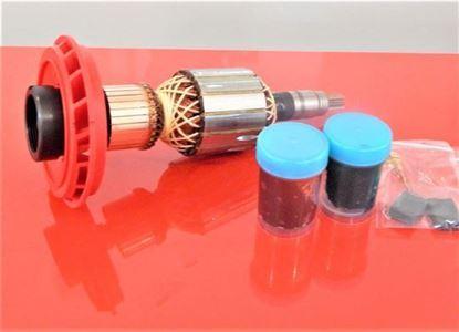 Bild von Anker Rotor Bosch GBH 11 DE GBH11DE ersetzt original (ekvivalent) Wartungssatz Reparatursatz Service Kit hohe Qualität Fett und Kohlebürsten GRATIS