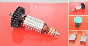 Bild von Anker Rotor Lüfter Makita HR2410 HR 2410 ersetzt original (ekvivalent) Wartungssatz Reparatursatz Service Kit hohe Qualität Fett und Kohlebürsten GRATIS