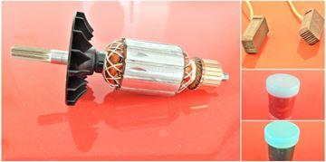 Obrázek kotva rotor ventilator Bosch GBH 4-32 GBH4-32 GBH432 nahradí 1614010252 uhlíky mazivo gratis - armature anker armadura armatura Reparatursatz Wartungssatz service repair kit