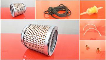 Obrázek sada filtrů pro Bomag BT58 BT 58 s Bomag motorem B30 / 1x palivový potrubní 1x vzduchový filtr 1x startovací šnůra 2x hadičky paliva 2x objímky  - OEM kvalita servisní nahradí originál SET1 filter filtre filtr filter filtre filtro set satz kit service servis reparatur wartung