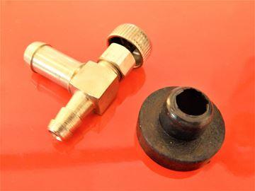 Bild von Benzinhahn Kraftstoffhahn einschliesslich Dichtung für Wacker BS500 BS600 BS700 ersetzt original Teilenummer 114066