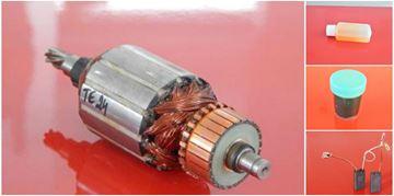 Image de ancre rotor HILTI TE 24 25 TE24 TE25 remplacer l'origine / kit de service de maintenance de réparation haute qualité / balais de charbon et huile gratuit + 2 roulement à billess