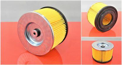 Obrázek vzduchový filtr do Bomag vibrační deska BPR 35/60D motor Hatz 1B20-6 filter filtre
