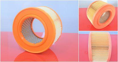 Image de vzduchový filtr pro Hatz motor Supra 1D80 a Hatz 1D80 1D 80 1D81 včetně kovové mřížky pro delší životnost nahradí originál Diesel 01493000 filter filtre