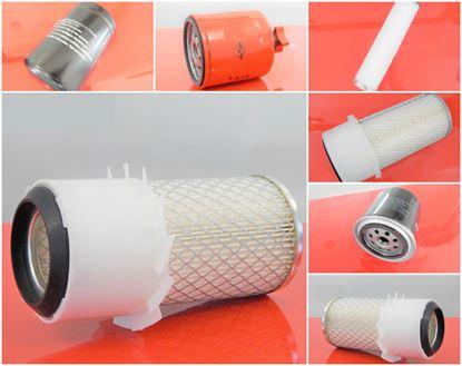 Obrázek servisní sada filtrů filtry pro Bobcat 753 Set2 obsahuje 1x vzduchový 1x palivový 1x olejový / motorový 1x hydraulický 1x bezpeční patrona vzduchového filtru - filtr filter suP - copy filtre