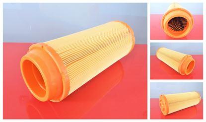 Obrázek vzduchový filtr do Schaeff nakladač SKL 833 motor Perkins filter filtre