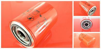 Obrázek hydraulický filtr šroubovací Kubota minibagr KH 8-3 motor Kubota D 850B4 částečně (58206) filter filtre