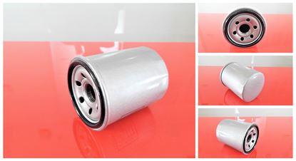 Obrázek olejový filtr pro Terex minibagr TC 60 motor Mitsubishi S4Q2 bis SN 0402 filter filtre