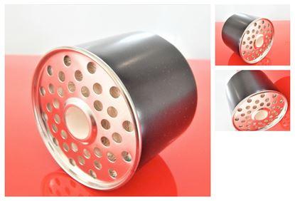 Image de palivový filtr do minibagr JCB 8052 JCB8052 od RV 1999 motor Perkins a pro JCB Robot + 1 sada těsnící kroužky skladem fuel filter filtrato skladem filtre