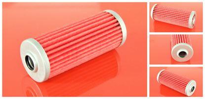 Obrázek palivový filtr do Yanmar minibagr B 18 EX B18EX motor Yanmar 3TNE68ENBAC filter filtre