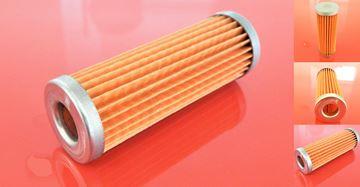 Obrázek palivový filtr do Fiat-Hitachi minibagr FH 16.2 B motor Kubota D1105 filter filtre