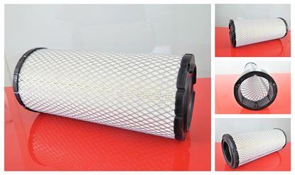 Obrázek vzduchový filtr do Ahlmann nakladač AX 70 2008- motor John Deere 4024HF295 filter filtre