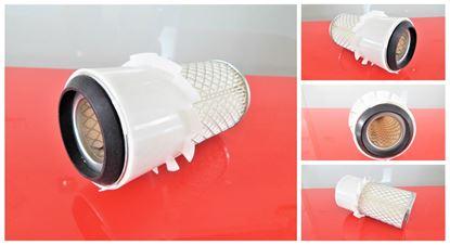 Obrázek vzduchový filtr do Airman minibagr HM 45S motor Isuzu 4JC1 částečně ver2 filter filtre