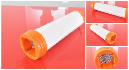 Obrázek vzduchový filtr patrona do Kubota minibagr KX 016-4 motor Kubota D 782-BH filter filtre