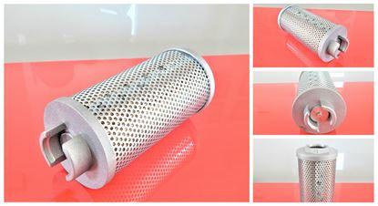 Obrázek hydraulický filtr sací filtr pro Airman minibagr AX 25-3 motor Isuzu 3YE1 filter filtre