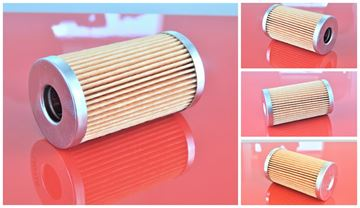 Obrázek palivový filtr-vložka do Rammax RW 1800 motor Kubota D1402B částečně filter filtre