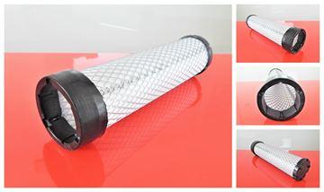 Obrázek vzduchový filtr patrona do JCB ROBOT 165 motor Perkins 104-22 filter filtre