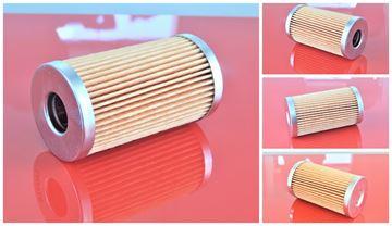 Obrázek palivový filtr do Schäffer 5060 ZL motor Kubota V 3300 filter filtre