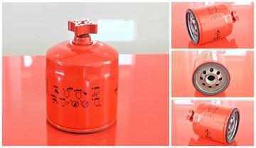 Obrázek palivový filtr do Bobcat minibagr 435 motor Kubota V 2203 filter filtre