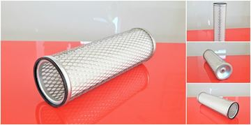 Obrázek vzduchový filtr patrona do Hanix N 450 motor Mitsubishi K4M filter filtre