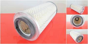 Obrázek vzduchový filtr do Schaeff nakladač SKL 821 A motor Perkins 504-2 filter filtre