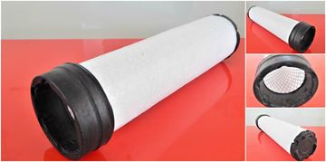 Obrázek vzduchový filtr patrona do Hydrema M 1520 C motor Perkins 1004C filter filtre