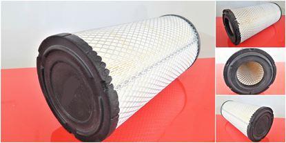 Obrázek vzduchový filtr do Neuson 12002 od serie AC02633 RV 2005 motor John Deere 4045TF270 filter filtre