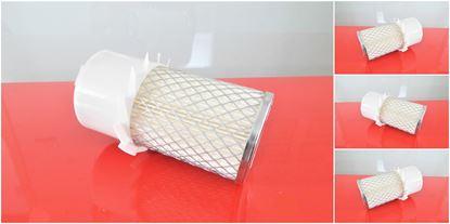Obrázek vzduchový filtr do Komatsu WA 70-1 od serie 10001 motor Yanmar 4D95L (dvojty) filter filtre