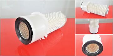 Obrázek vzduchový filtr do Ammann vibrační válec AV 12 motor Yanmar ver1 filter filtre