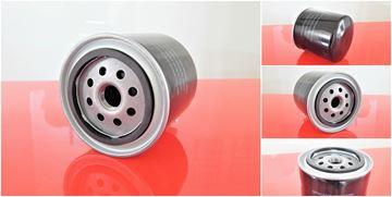 Obrázek olejový filtr pro Bobcat nakladač S 250 ab SN 5214 11001 motor Kubota V3300-DI-T filter filtre