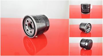 Obrázek olejový filtr pro Yanmar minibagr SV 17 SV17 motor Yanmar 3TNV70-VBVA (61070) filter filtre oil huile