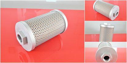 Obrázek hydraulický filtr vložka Kubota minibagr KH 8-3 motor Kubota D 850B4 částečně filter filtre