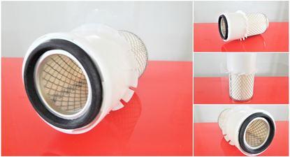 Obrázek vzduchový filtr do Gehl MB 358 motor Isuzu 3LD1 filter filtre