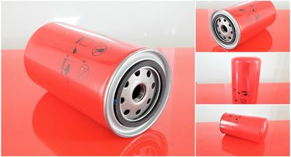 Image de olejový filtr pro Hydrema 912 C od serie 8132, od RV 2004 motor Perkins 1104C-44TA ver2 filter filtre